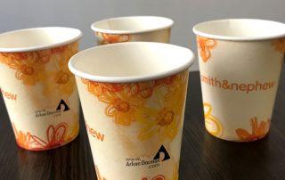 چاپ لیوان کاغذی