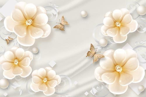گالری پوستر دیواری گل هلندی