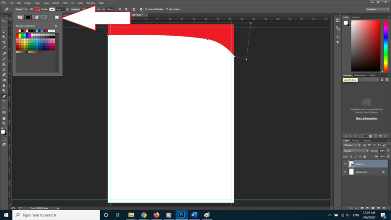 Design a Letterhead with Photoshop7