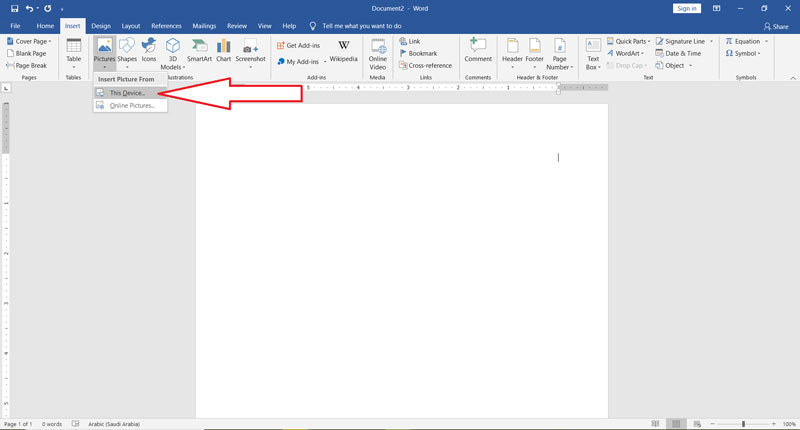 Invoice design with Word2
